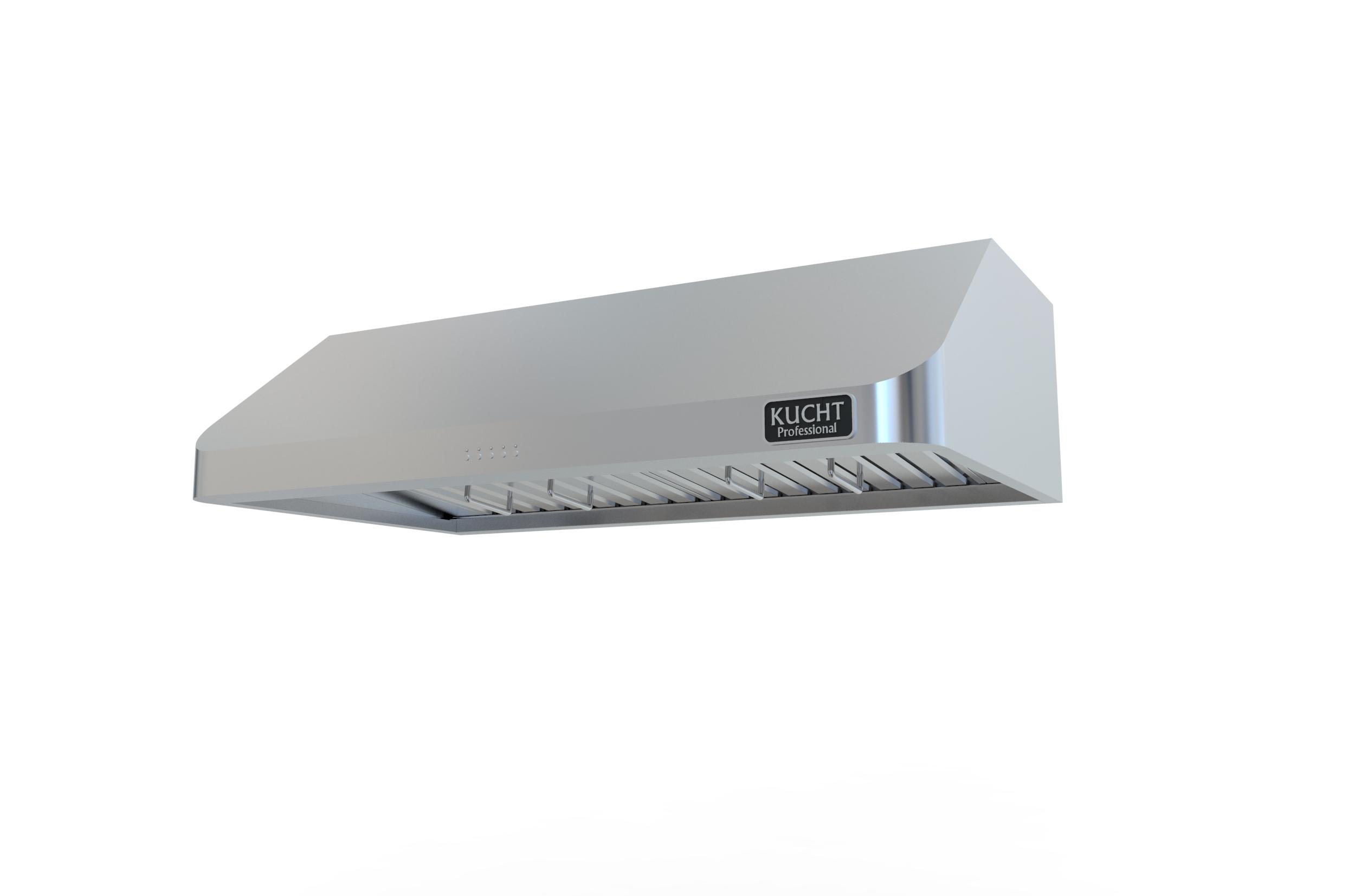 kucht under cabinet range hood