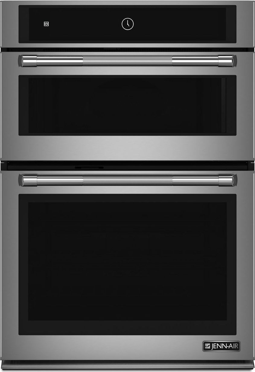 Jennair 30 Speed Microwave Wall Oven Combo In Stainless