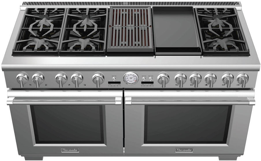 Thermador Pro Grand Series 60 Dual Fuel Convection Range